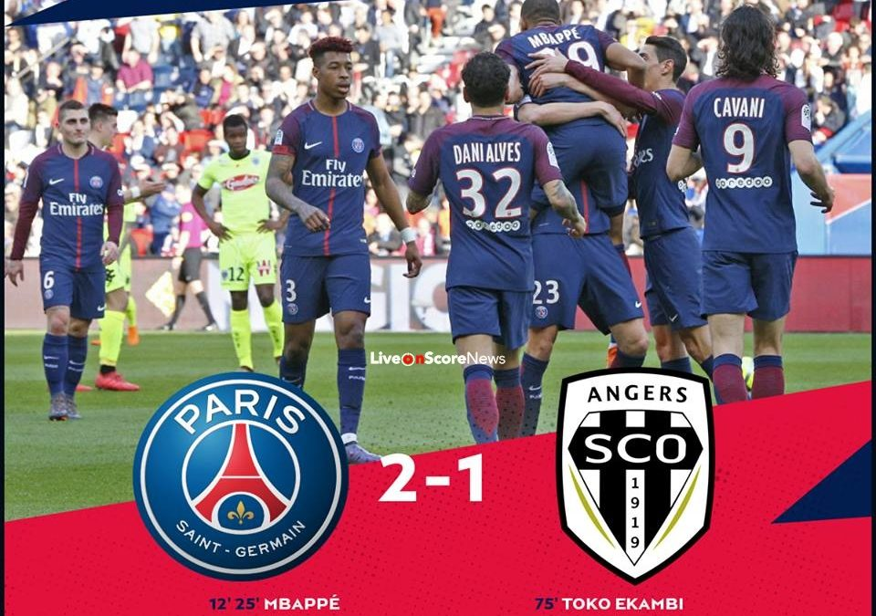 Paris Saint Germain 2-1 Angers Full Highlight Video