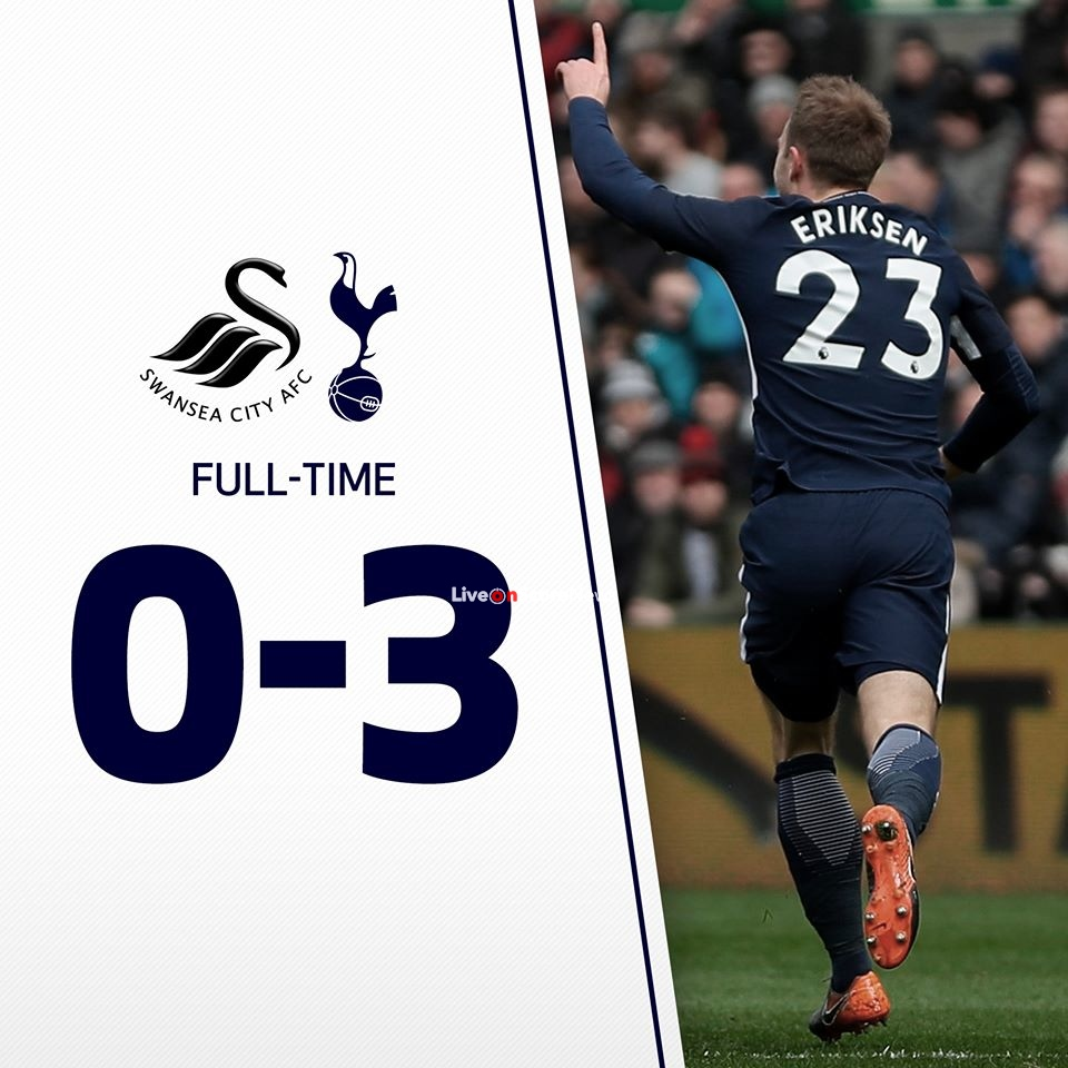 Swansea City 0-3 Tottenham Hotspur Full Highlight Video Fa