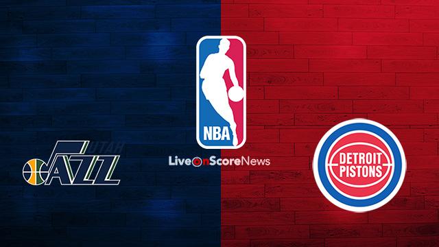 Utah Jazz vs Detroit Pistons Preview and Prediction Live stream NBA 2018