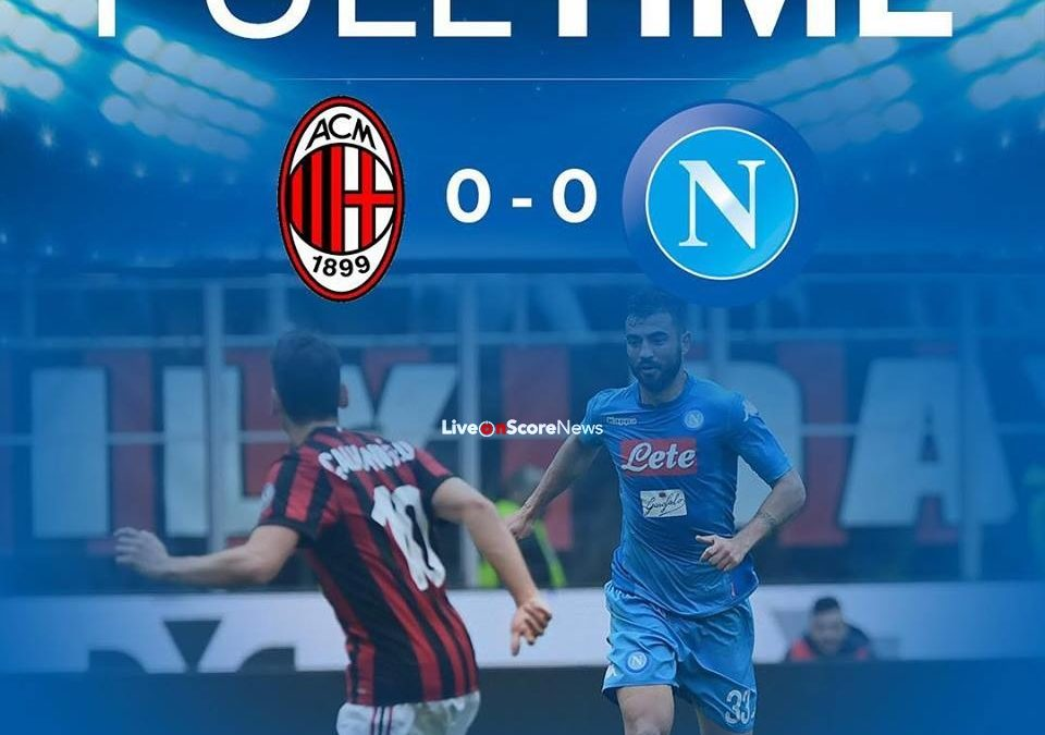 AC Milan 0-0 SSC Napoli Full Highlight Video