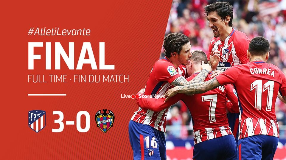 Atletico Madrid 3-0 Levante Full Highlight Video