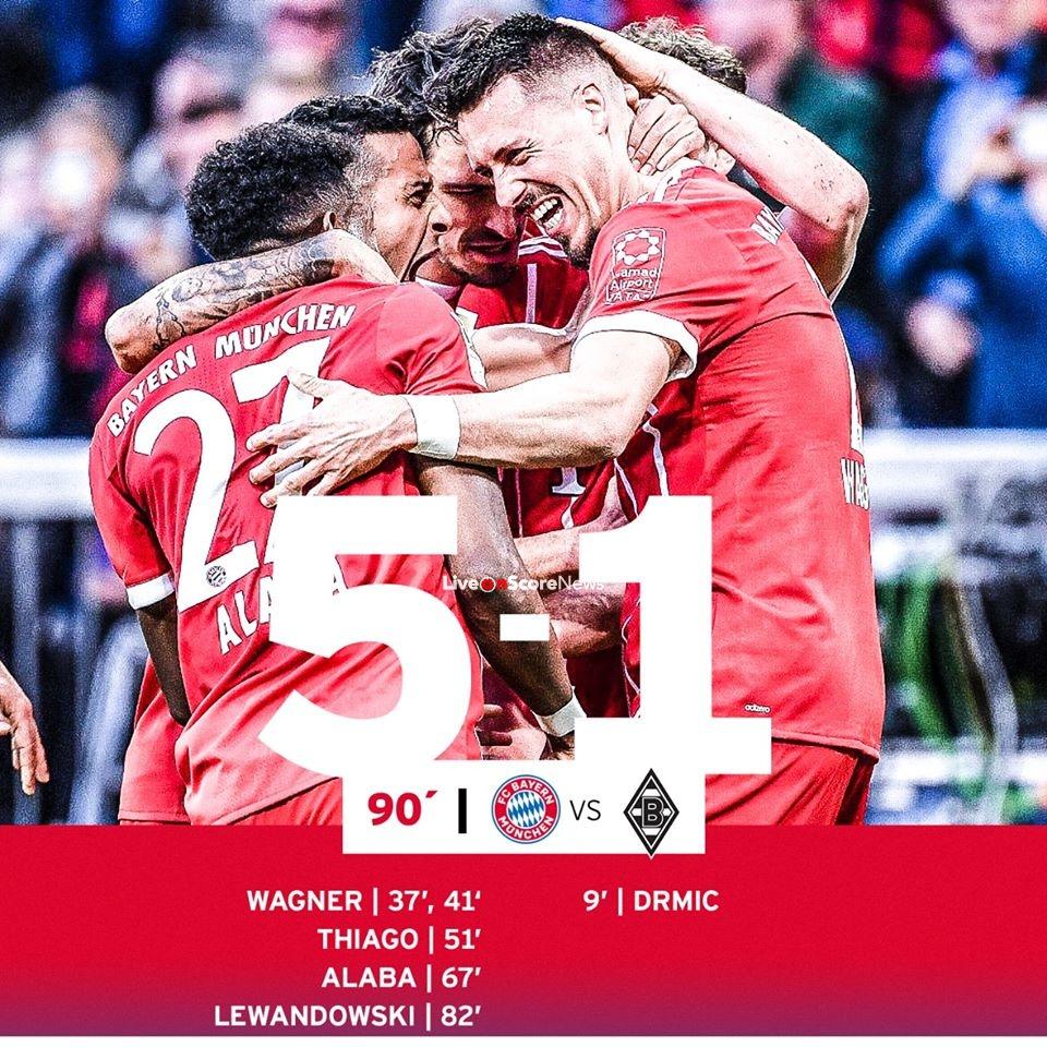 Bayern Gegen Mönchengladbach 2021
