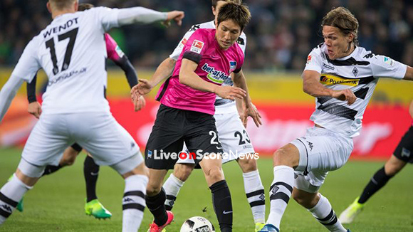 Image result for Borussia Monchengladbach vs Hertha Berlin live