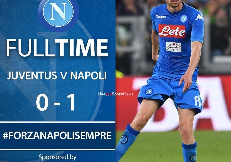 Juventus 0-1 SSC Napoli Full Highlight Video
