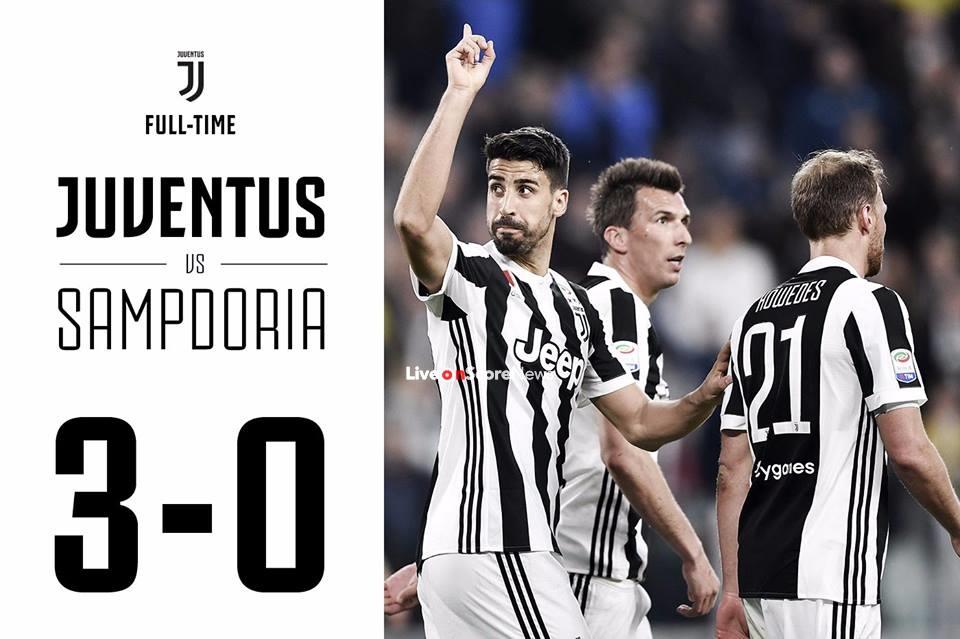 Juventus 3-0 Sampdoria Full Highlight Video