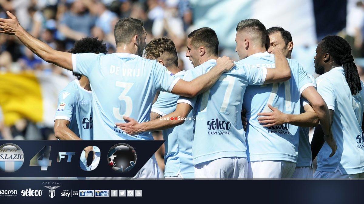 Lazio 4-0 Sampdoria Full Highlight Video