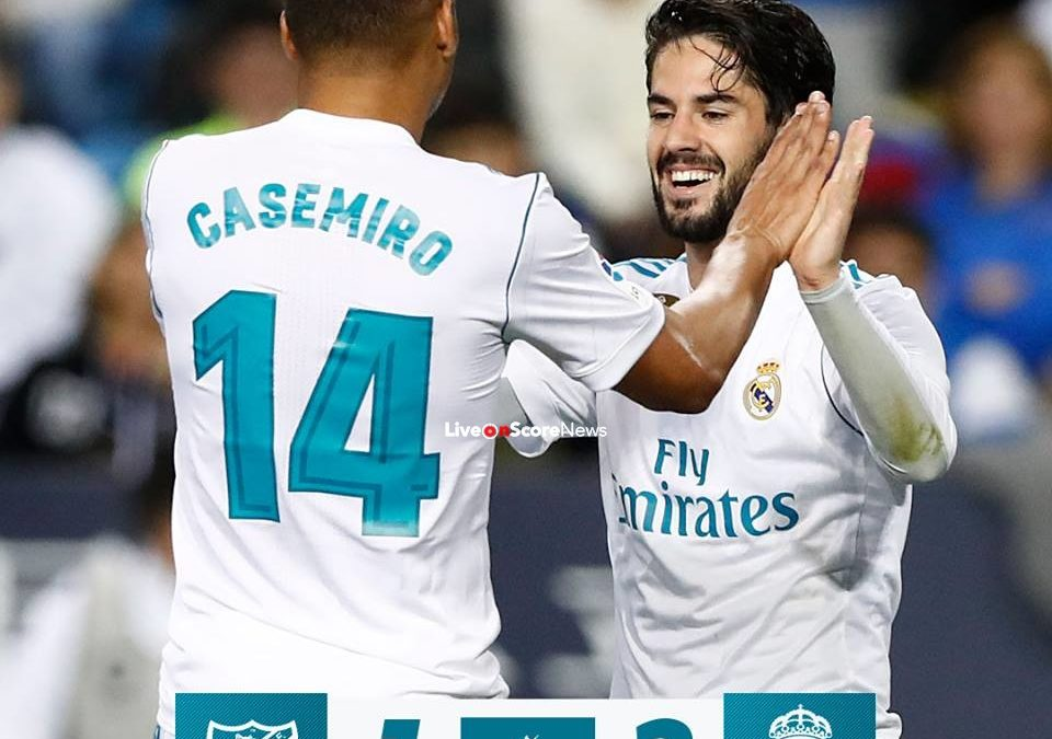 Malaga 1-2 Real Madrid Full Highlight Video