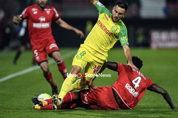 nantes vs dijon preview and prediction live stream france ligue 1 2018. Black Bedroom Furniture Sets. Home Design Ideas