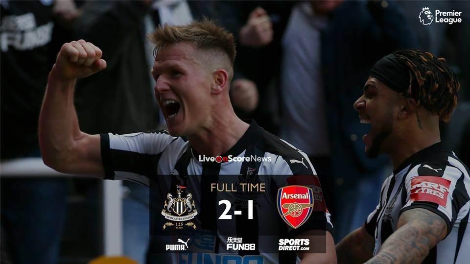 Newcastle United 2-1 Arsenal Full Highlight Video