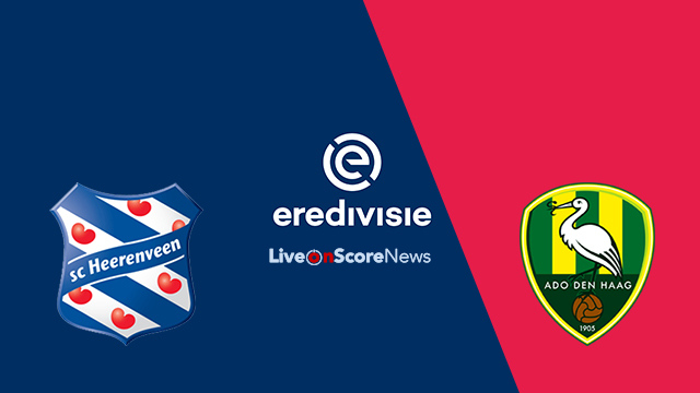SC Heerenveen vs ADO Den Haag Preview and Prediction Live Stream Netherlands – Eredivisie 2018