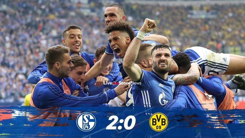 Schalke 04 2-0 Borussia Dortmund Full Highlight Video