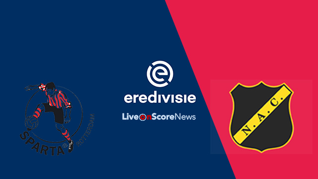 Sparta Rotterdam vs NAC Breda Preview and Prediction Live Stream Netherlands – Eredivisie 2018