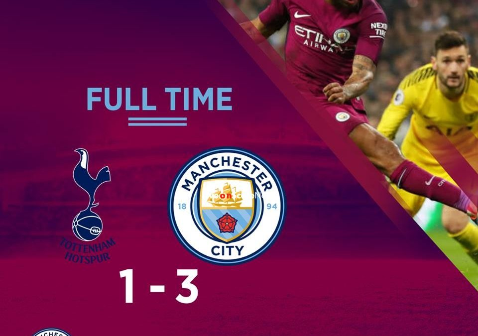 Tottenham Hotspur 1-3 Manchester City Full Highlight Video