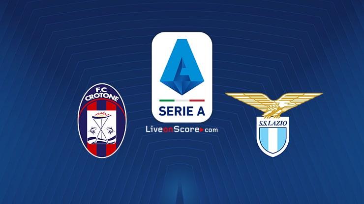 Crotone vs Lazio Preview and Prediction Live stream Serie Tim A 2020/2021