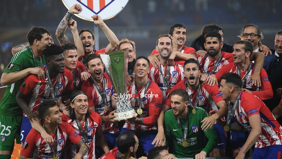 Atlético beat Marseille to win Europa League