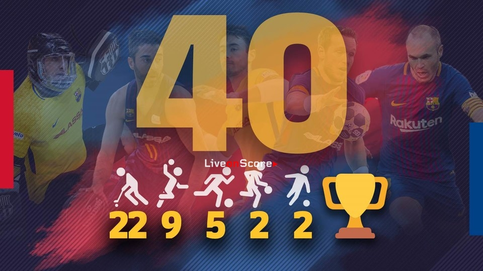 FC Barcelona now have 40 European Cup wins