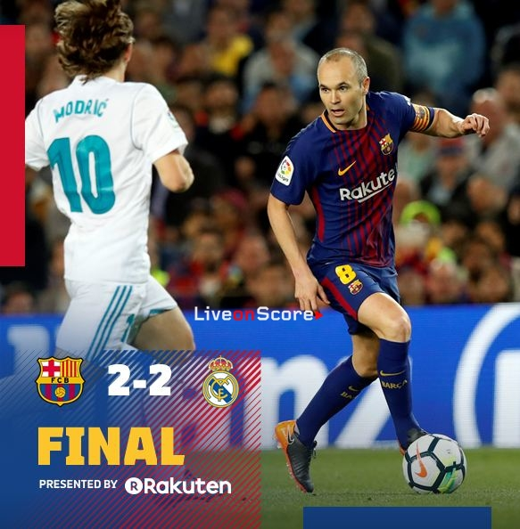 Барселона и реал мадрид 2 2