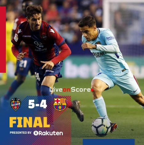 Image result for levante 5-4 barcelona