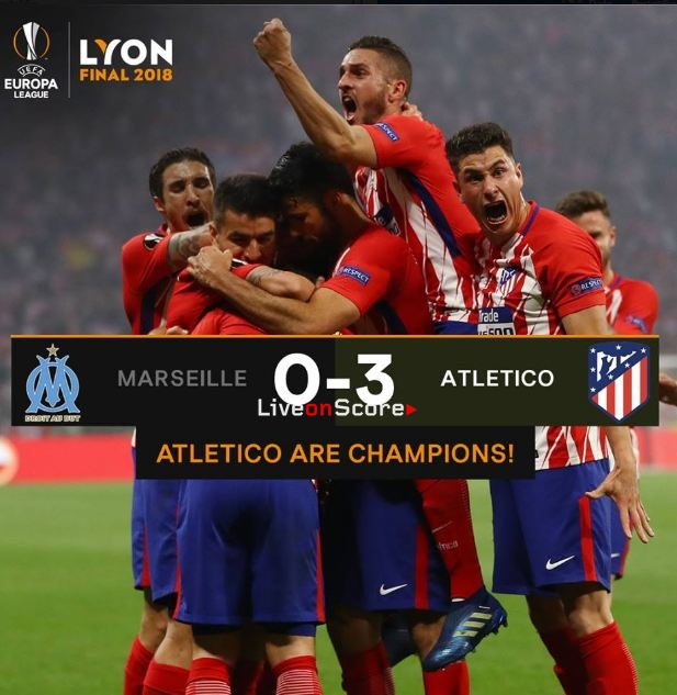 Marseille 0-3 Atletico Madrid Full Highlight Video Uefa Europa League Final 2018