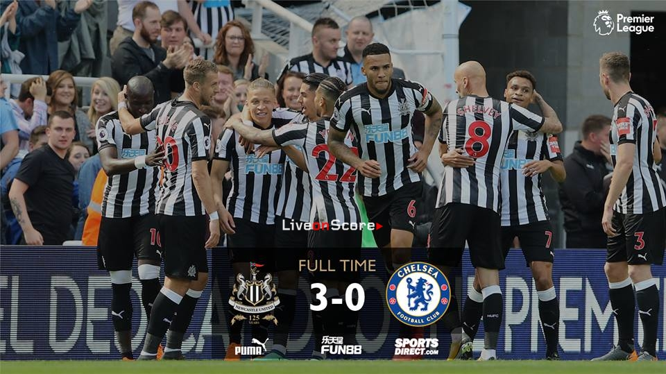 Newcastle United 3-0 Chelsea Full Highlight Video