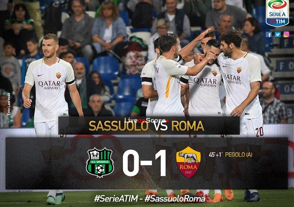 Sassuolo 0-1 Roma Full Highlight Video