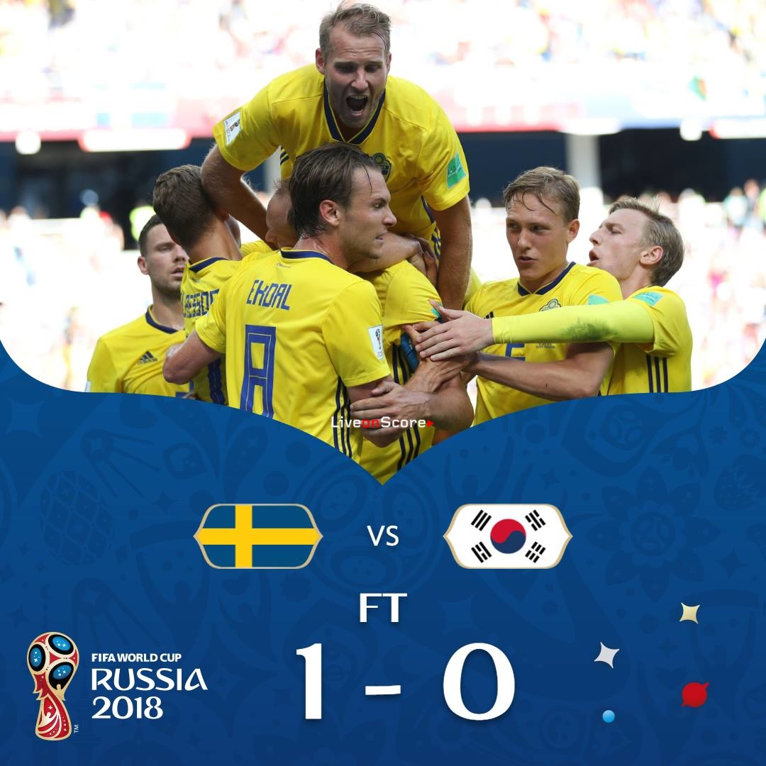 Sweden 1-0 South Korea Full Highlight Video Russia World Cup 2018 ee7435705