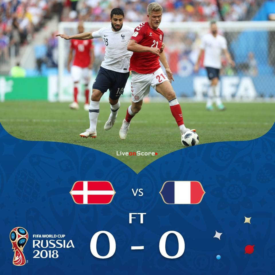 Denmark 0-0 France Full Highlight Video Russia World Cup 2018