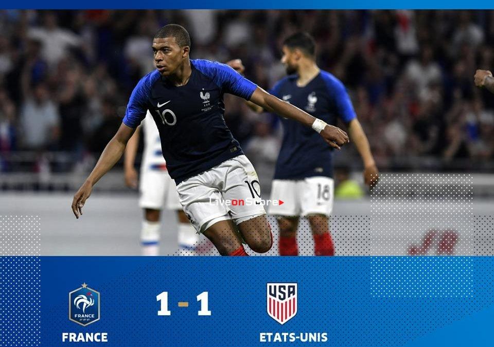 France 1-1 USA Full Highlight Video Friendly International 2018