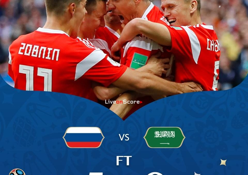 Russia 5-0 Saudi Arabia Full Highlight Video Russia World Cup 2018
