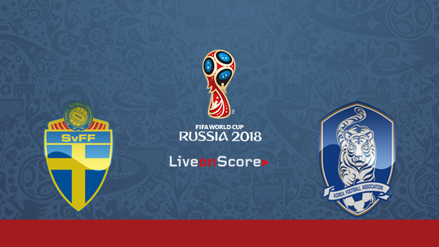 Sweden vs South Korea Preview and Prediction Live Stream Russia World Cup 2018