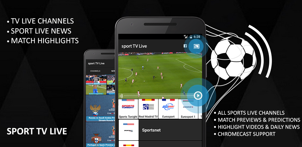 sport TV Live Stream – iOS/Android Mobile App – Sport Live Television