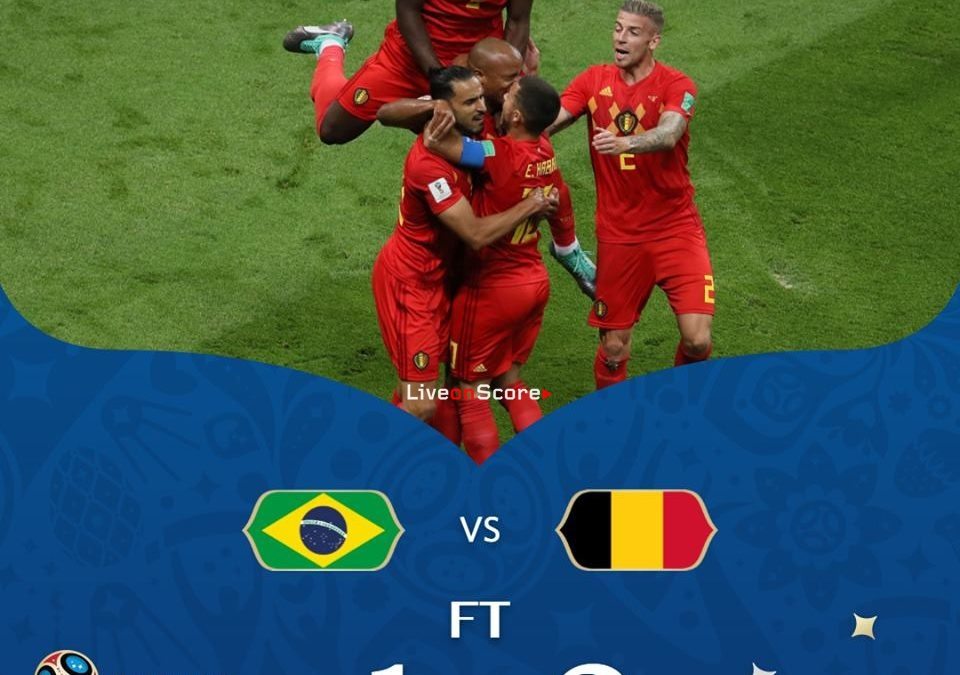 Brazil 1-2 Belgium Full Highlight Video World Cup 2018 – 1/4 Final