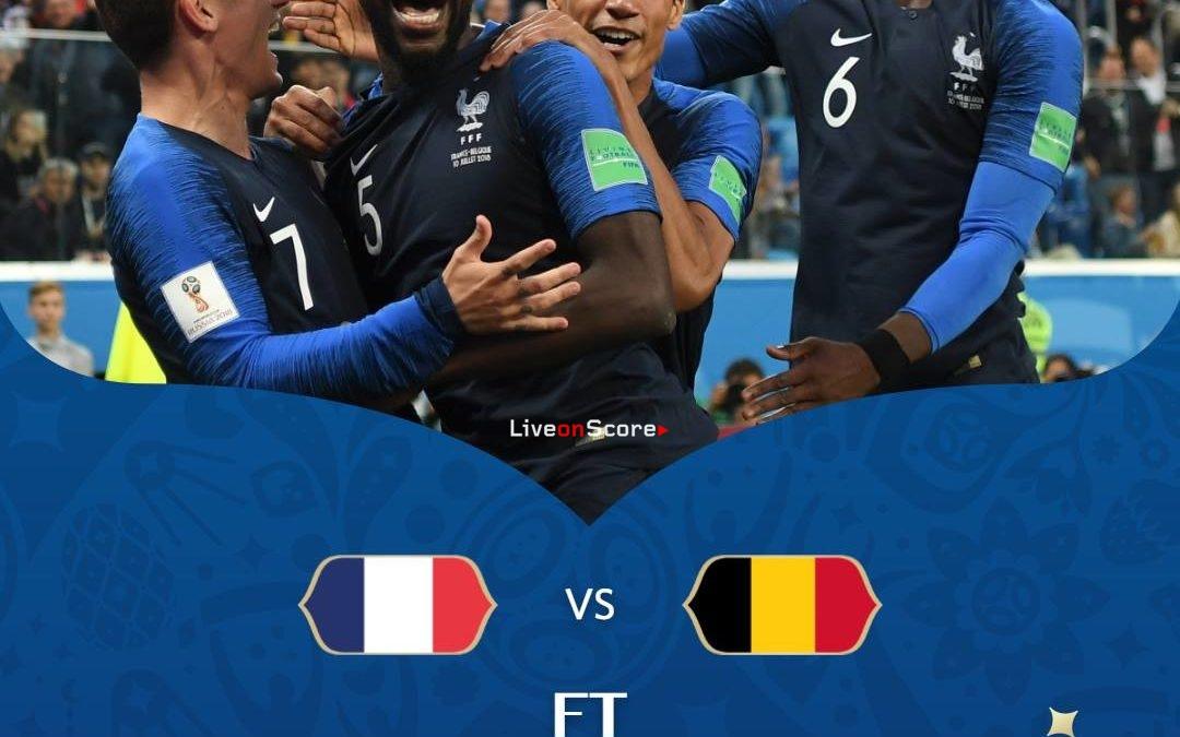 France 1-0 Belgium Full Highlight Video World Cup 2018 – Semi-Final