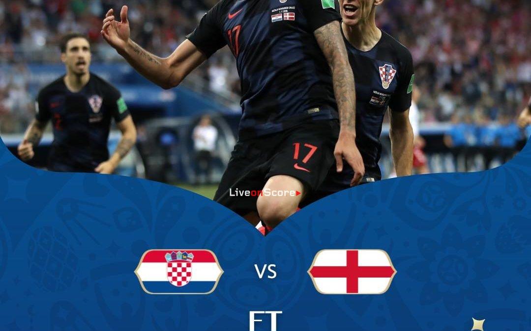 Croatia 2-1 England (ET) Full Highlight Video World Cup 2018 – Semi-Final