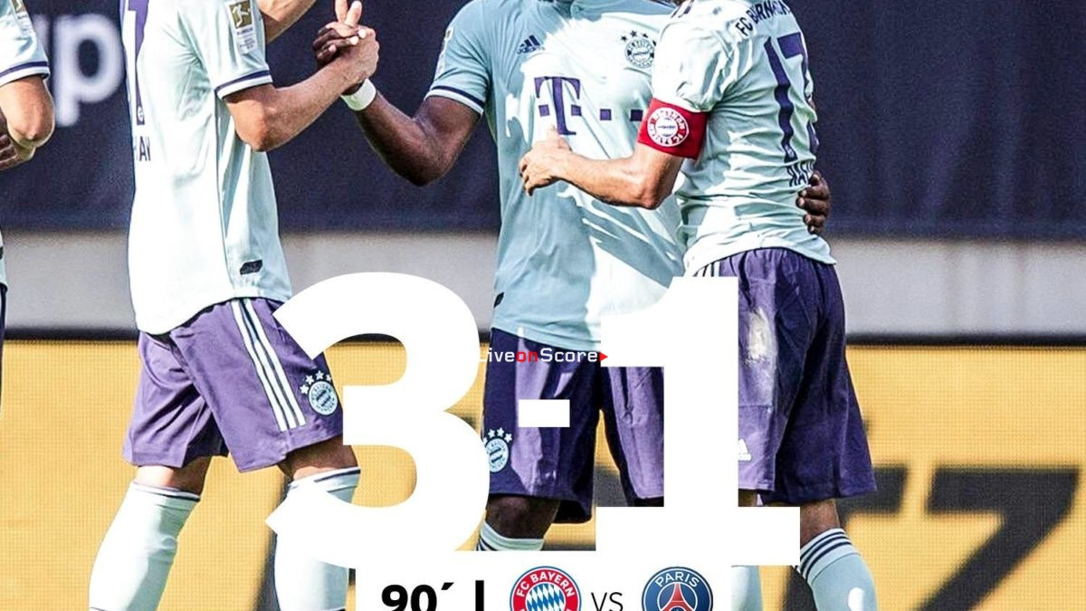 Bayern Munich 3-1 Paris SG Full Highlight Video International Champions Cup 2018