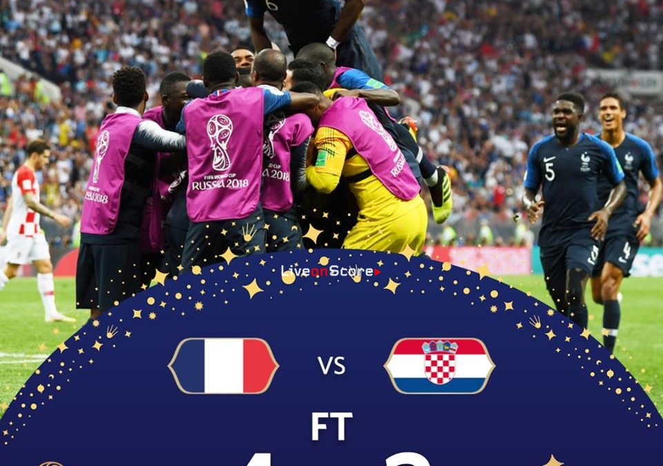 France 4-2 Croatia Full Highlight Video World Cup 2018 – Final