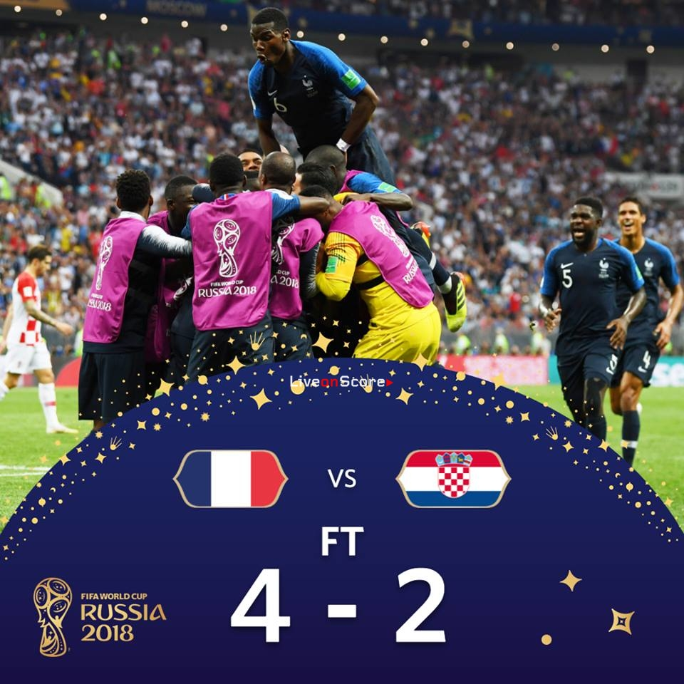France 4 2 Croatia Full Highlight Video World Cup 2018 Final