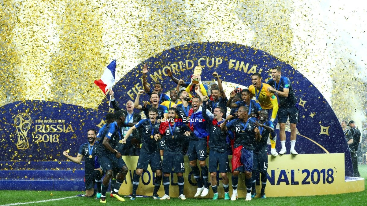 France 4-2 Croatia Trophy Celebrations Full Highlight Video World Cup 2018