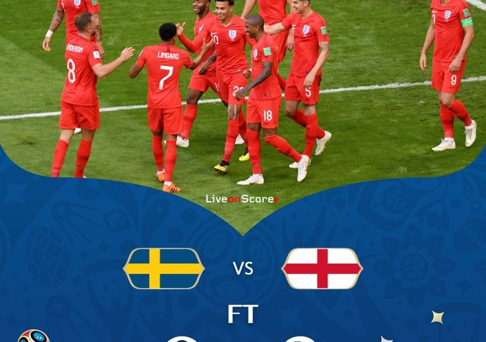 Sweden 0-2 England Full Highlight Video World Cup 2018 – 1/4 Final
