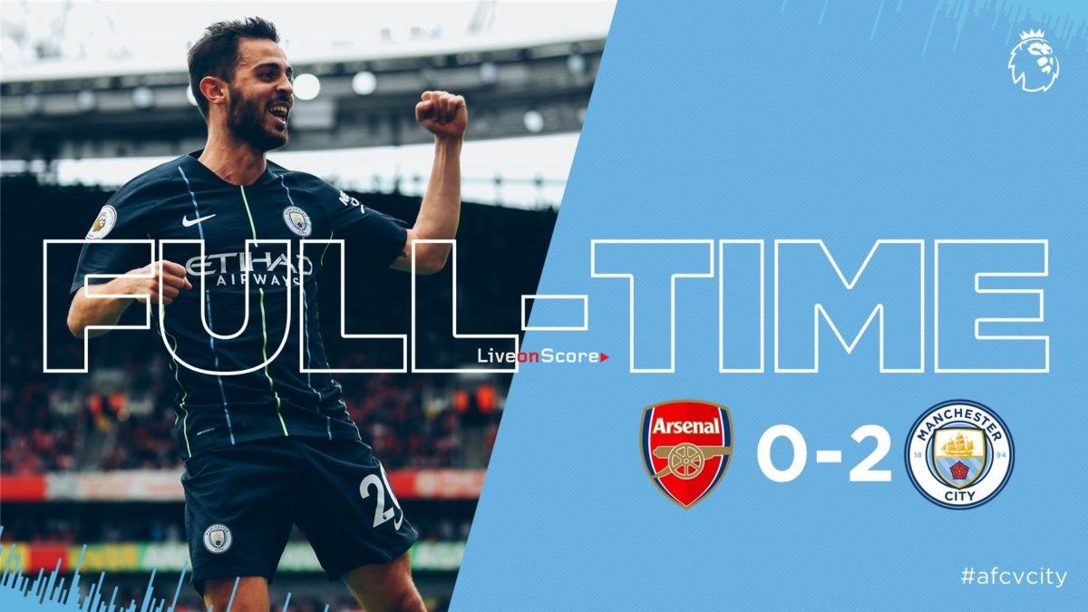Arsenal 0-2 Manchester City Full Highlight Video Premier League 2018/2019