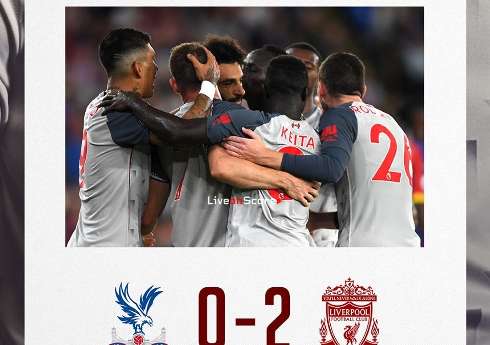 Crystal Palace 0-2 Liverpool Full Highlight Video – Premier League 2018/2019