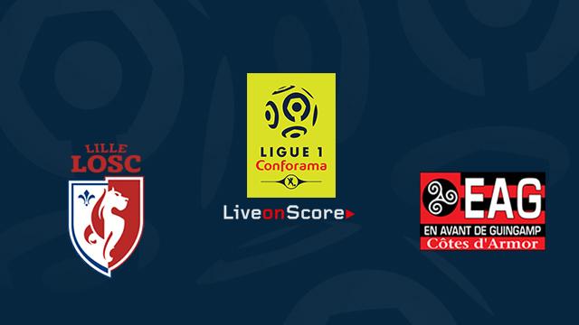 Lille vs Guingamp Pronósticos de apuestas previas y apuestas Transmision en vivo France Ligue 1 2018 / 2019