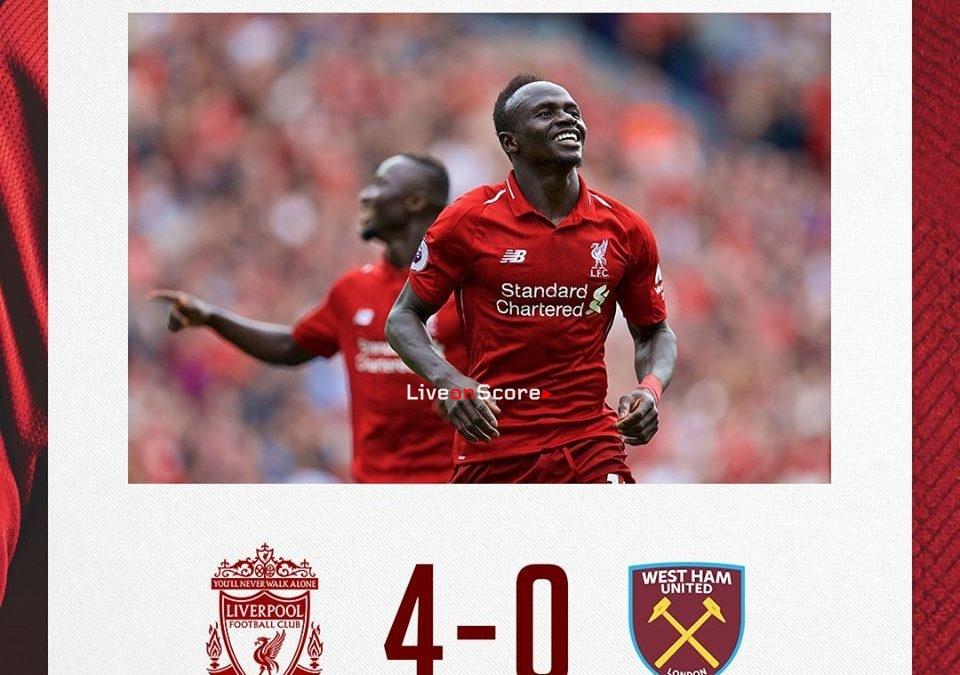 Liverpool 4-0 West Ham United Full Highlight Video Premier League 2018/2019