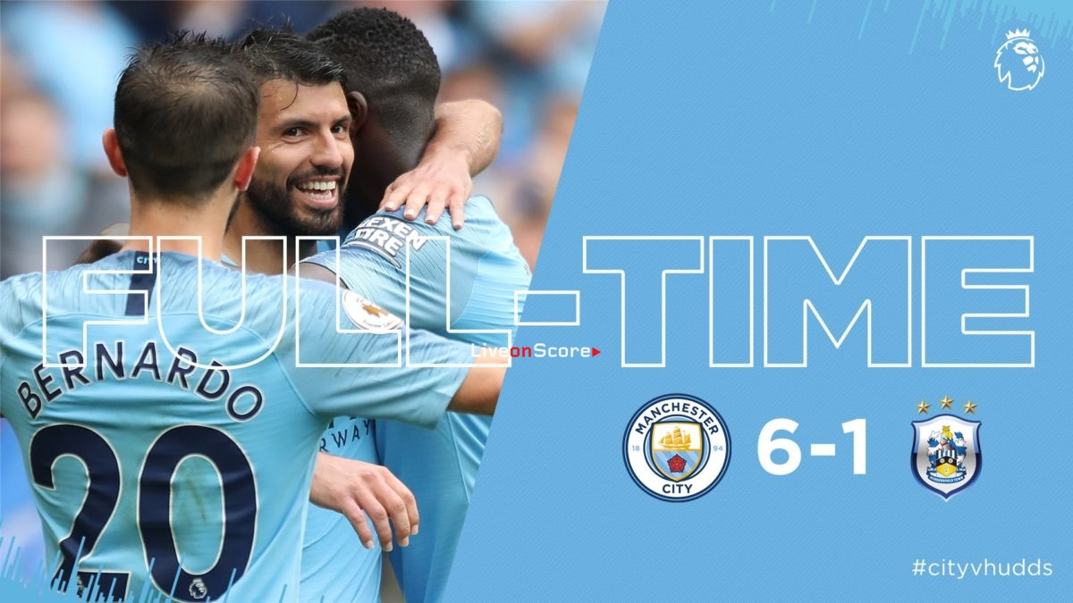 Manchester City 6-1 Huddersfield Town Full Highlight Video – Premier League 2018/2019