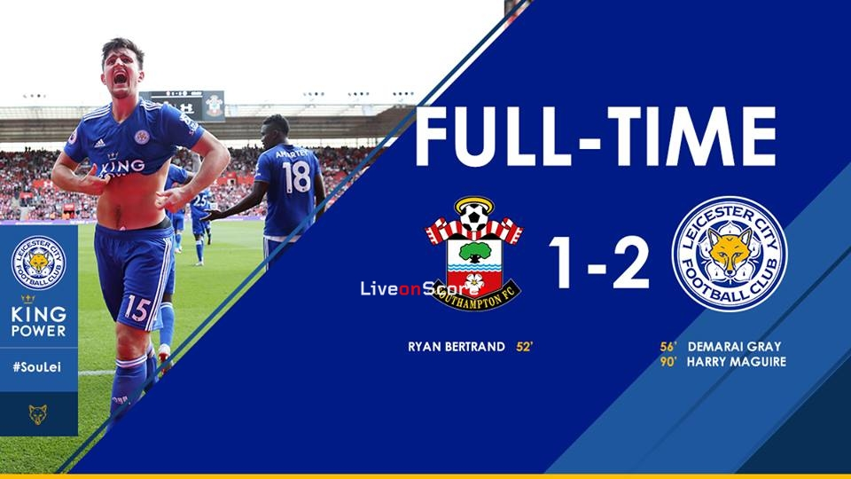 Southampton 1 2 Leicester City Full Highlight Video Premier League 2018 2019