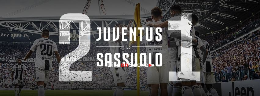 Juventus 2-1 Sassuolo Full Highlight Video – Serie A 2018/2019