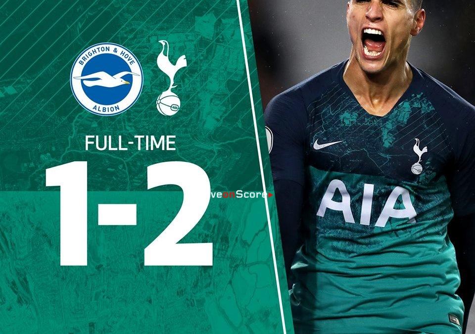 Brighton & Hove Albion 1-2 Tottenham Hotspur Full Highlight Video – Premier League 2018/2019