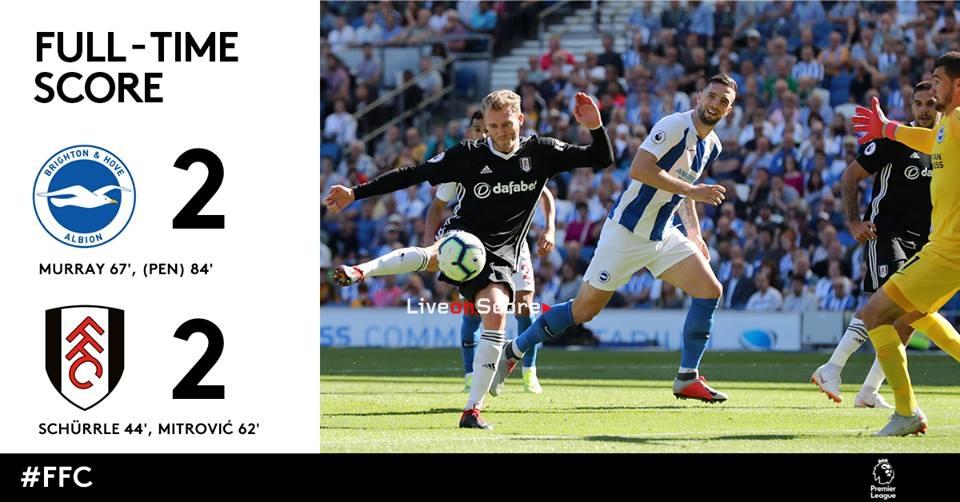 ブライトン&ホーブアルビオンFC 2-2フラムFCフルハイライトビデオ ...