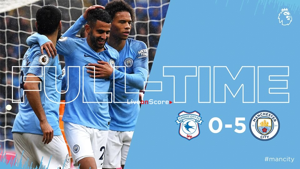 Cardiff City 0-5 Manchester City Full Highlight Video – Premier League 2018/2019