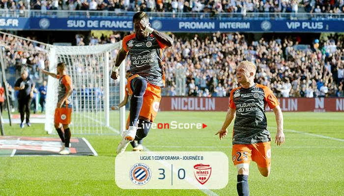 Montpellier HSC 3 -0 Nimes Full Highlight Video – Ligue 1 2018/2019